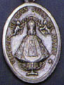 Religious Saint Holy Medal : Silver Colored: San Juan OX* Saint Medal