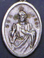 Religious Medals: Scapular Medal OX Medal