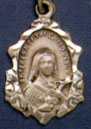 Religious Saint Holy Medal : Gold Filled: St. Theresa GF* Saint Medal