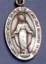 Religious Medals: Miraculous Medal SS