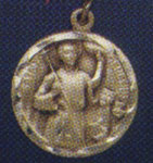 Religious Saint Holy Medal : All Materials: St. Genesius (Round) SS* Medal