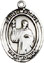 Religious Saint Holy Medal : Sterling Silver: St. Maurus SS Saint Medal