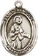 Religious Saint Holy Medal : Sterling Silver: St. Remigius of Reims SS Medal
