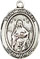 Items related to St. Francis de Sales: St. Deborah SS Saint Medal