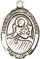 Religious Saint Holy Medal : Sterling Silver: St. Lidwina of Schiedam SS Mdl