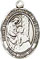 Religious Saint Holy Medal : Sterling Silver: Elizabeth of the Visitation