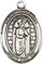 Religious Saint Holy Medal : Sterling Silver: St. Matthias the Apostle SS Md