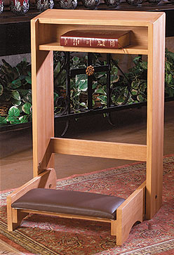 Folding Prayer Kneeler