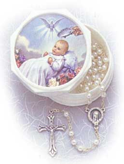Pre-made Rosaries and Chaplets: Baptism Rosary