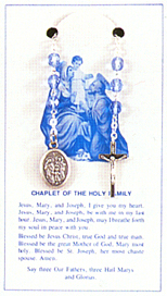 Rosaries: Holy Family Chaplet