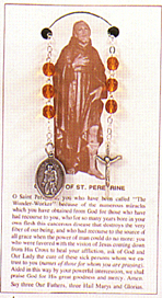 Pre-made Rosaries and Chaplets: Peregrine Chaplet