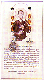 Items related to St. Gerard Majella: Gerard Chaplet
