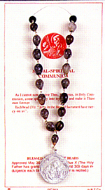 Finished Rosary Beads: Blessed Sacrament Chaplet
