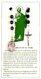 Items related to St. Jude Thaddeus: St. Jude Chaplet
