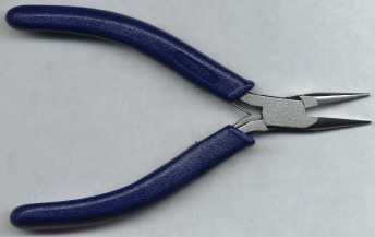 Rosary Making Tools: Ergonomic Chain Nose Pliers