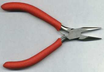 Rosary Making Tools: Chain Nose Pliers