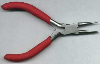 Rosary Making Tools: Round Nose Pliers