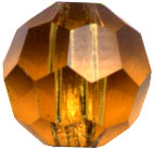 Round Topaz Crystal 6mm