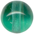 Glass Beads: Druk Teal Glass 6mm