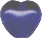 Heart Cobalt Blue 6mm