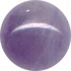 Semi-precious Beads: Amethyst 6mm