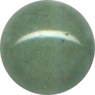 Semi-precious Beads: Aventurine Green 8mm