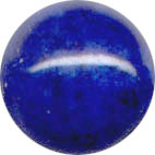 Semi-precious Beads: Fossil Blue 6mm