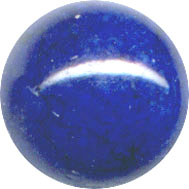 Semi-precious Beads: Fossil Blue 8mm