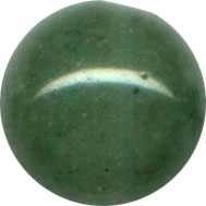 Semi-precious Beads: Jade Green 8mm
