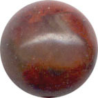 Semi-precious Beads: Jasper Brecciated 6mm