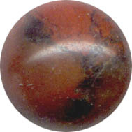 Semi-precious Beads: Jasper Brecciated 8mm