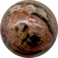 Jasper Leopardskin 8mm
