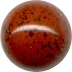 Semi-precious Beads: Jasper Red 6mm