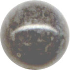 Semi-precious Beads: Fossil Grey 6mm