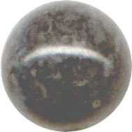 Semi-precious Beads: Fossil Grey 8mm