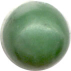 Semi-precious Beads: China Jade 6mm