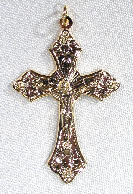 Traditional Crucifix Vermeil