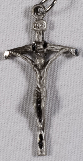 Crucifixes: Papal Crucifix (Size 3) SS