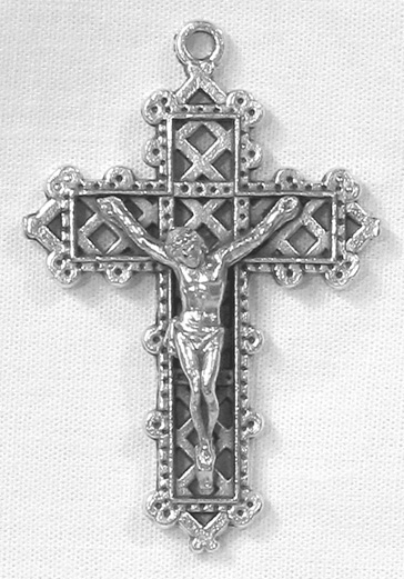 Crucifixes: Lattice Crucifix SS