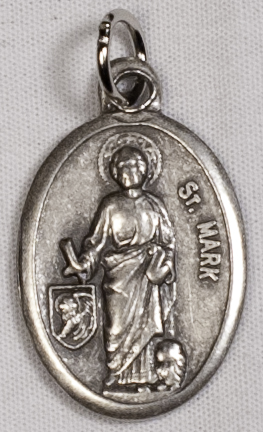 Religious Medals: St. Mark OX Saint Medal
