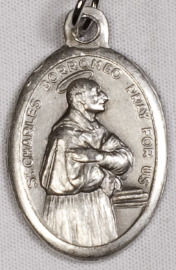 Religious Medals: St. Charles Borromeo OX Medal