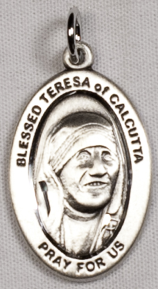 Religious Medals: St. Teresa of Calcutta SS Mdl
