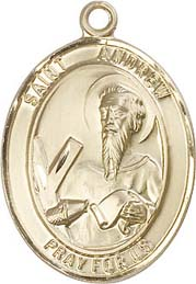 Religious Medals: St. Andrew GF Saint Medal