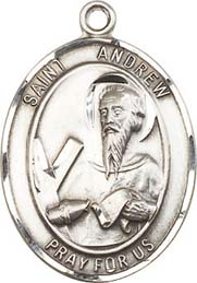Religious Medals: St. Andrew SS Saint Medal