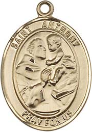 Religious Medals: St. Anthony GF Saint Medal