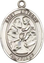 Religious Medals: St. Anthony SS Saint Medal