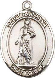 Religious Medals: St. Barbara SS Saint Medal