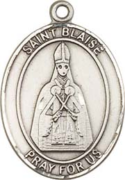 Religious Medals: St. Blaise SS Saint Medal