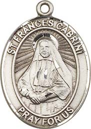 Religious Medals: St. Frances Cabrini SS Medal