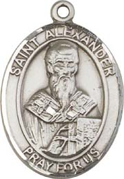 Religious Medals: St. Alexander SS Saint Medal